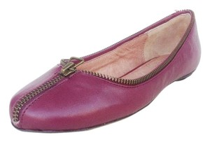 Ballasox by Corso Como Leather Zipper New raspberry Flats