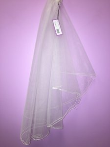 Davids 2 Layer Veil W/broach