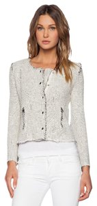 IRO Tory Burch Dvf Isabel Marant Chanel Burberry Grey Jacket