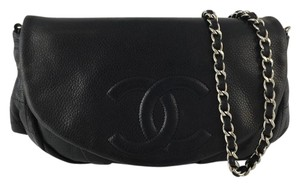 Chanel Woc Caviar Caviar Half Moon Cross Body Bag