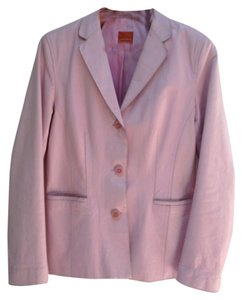 Jon Carlyle pink Leather Jacket