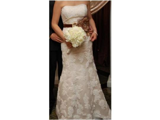 Preload https://item2.tradesy.com/images/david-s-bridal-ivory-lace-ct229-traditional-wedding-dress-size-8-m-42771-0-0.jpg?width=440&height=440