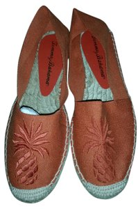 Tommy Bahama Espadrille Pineapple orange Sandals
