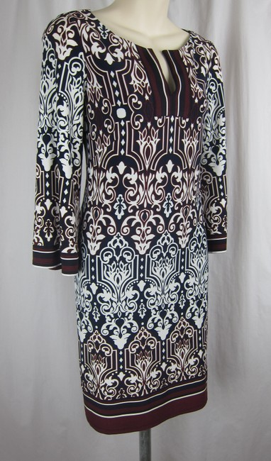 Laundry by Shelli Segal short dress multi-colored Floral Hippie Mod Boho Bohemian on Tradesy