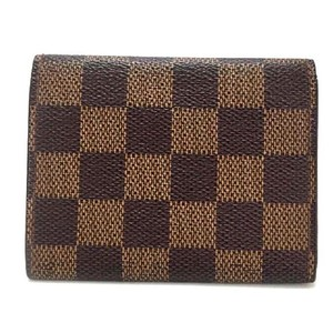 Louis Vuitton Louis Vuitton Signature Damier Bifold Credit Card Wallet Unisex