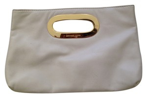 Michael Kors creme Clutch