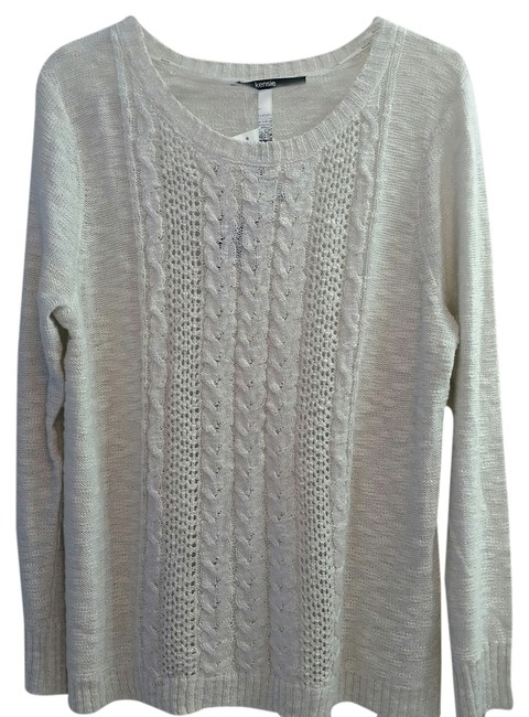 Kensie Semi Cable Knit Sweater