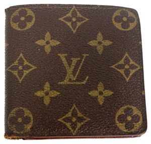 Louis Vuitton Louis Vuitton Signature Monogram Canvas Mens Luxury Wallet
