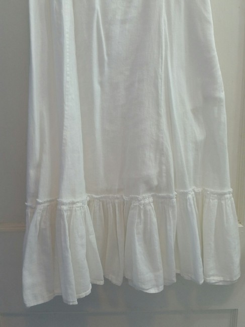 American Eagle Outfitters short dress White Layered Flowy Flutter Cotton on Tradesy