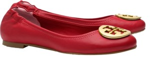 Tory Burch Lobster Red Flats