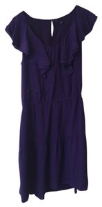 Gap short dress Puple Purple on Tradesy