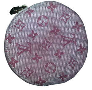 Louis Vuitton Louis Vuitton Pink Monogram Mini Coin Case