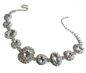 Bijoux and Couture Swarovski Crystal headband
