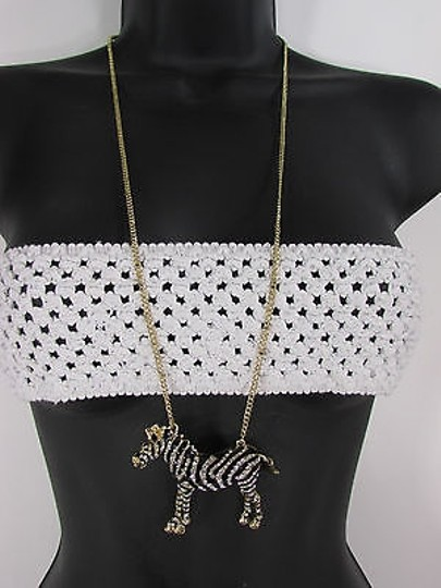 Preload https://item5.tradesy.com/images/women-necklace-fashion-metal-zebra-long-chains-classic-gold-silver-mix-4283494-0-0.jpg?width=440&height=440