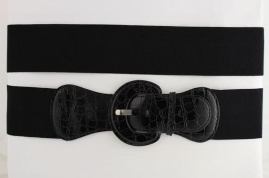 Preload https://item5.tradesy.com/images/women-belt-wide-elastic-black-fashion-hip-high-waist-round-buckle-fits-4283749-0-0.jpg?width=440&height=440