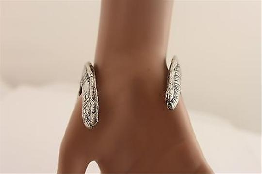 Other Women Antique Silver Rib Cage Spinal Cord Pelvis Bracelet Metal Fashion Cuff