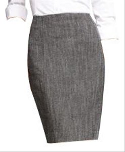 Express Skirt Black, white and gray tweed