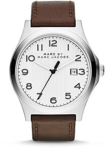 Marc Jacobs Marc By Marc Jacobs Jimmy Leather Mens Watch Mbm5045