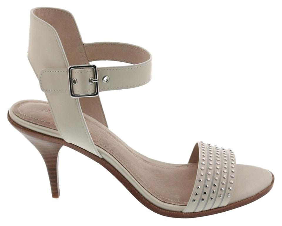Pour La Sandals Victoire Cream Mya Studded Sandals La 9768a5