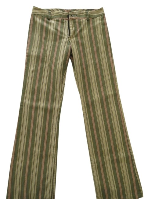 Preload https://item5.tradesy.com/images/tailor-new-york-olive-ecru-and-peach-stripe-mod-boho-summer-earth-tone-flared-pants-size-2-xs-26-4287739-0-4.jpg?width=400&height=650