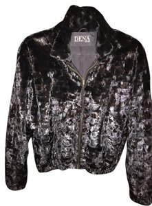 Denali Fur Bomber Jacket Leather Fur Coat