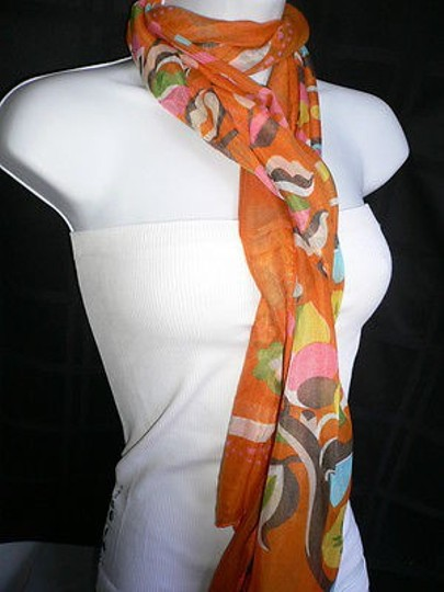 Other Women Light Weight Summer Fabric Japaness Flowers Fashion Scarf Wrap Shawl