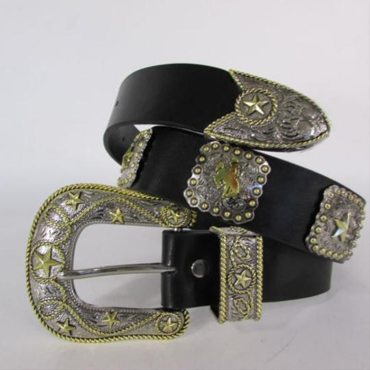 Preload https://item1.tradesy.com/images/women-belt-black-leather-western-fashion-texas-big-star-rodeo-buckle-sm-ml-4288765-0-0.jpg?width=440&height=440