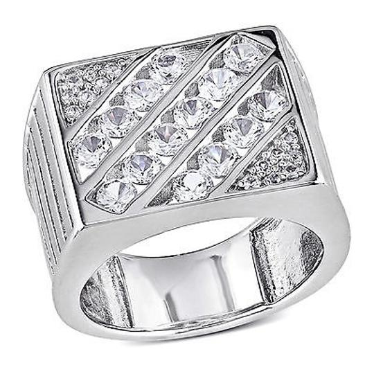 Preload https://item4.tradesy.com/images/amour-sterling-silver-created-white-sapphire-mens-cocktail-ring-4289173-0-0.jpg?width=440&height=440