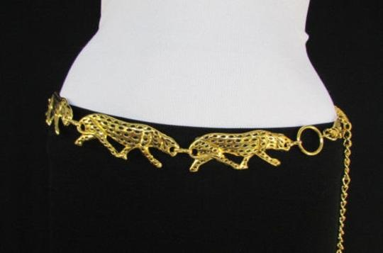 Preload https://item2.tradesy.com/images/other-women-fashion-belt-gold-metal-tiger-chains-panther-hip-waist-26-36-4289641-0-0.jpg?width=440&height=440