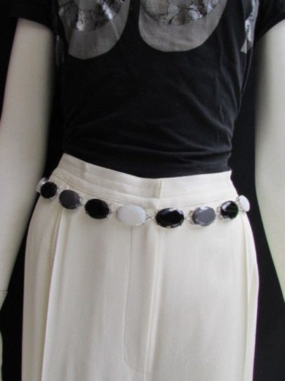 Preload https://item5.tradesy.com/images/women-belt-hip-waist-silver-metal-chains-gray-black-white-beads-25-40-xs-l-4289704-0-0.jpg?width=440&height=440