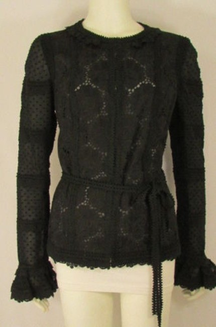 Preload https://item5.tradesy.com/images/authenthic-andrew-gn-atelier-jacket-coat-black-fashion-lace-quilted-flowers-844-4289929-0-0.jpg?width=400&height=650