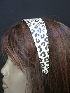 Other Women Hot Fashion White Black Leopard Headband Adjustable Animal Print