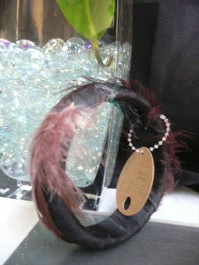 Preload https://item3.tradesy.com/images/other-women-black-brown-fun-feathers-fashion-bracelet-clubbing-chic-bangle-4290292-0-0.jpg?width=440&height=440