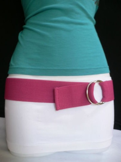 Other Women High Waist Hip Stretch Pink Casual Elastic Fashion Belt