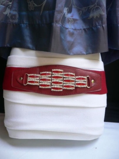 Preload https://item4.tradesy.com/images/women-waist-hip-elastic-red-fashion-belt-rhinestones-buckle-27-37-s-l-4290688-0-0.jpg?width=440&height=440