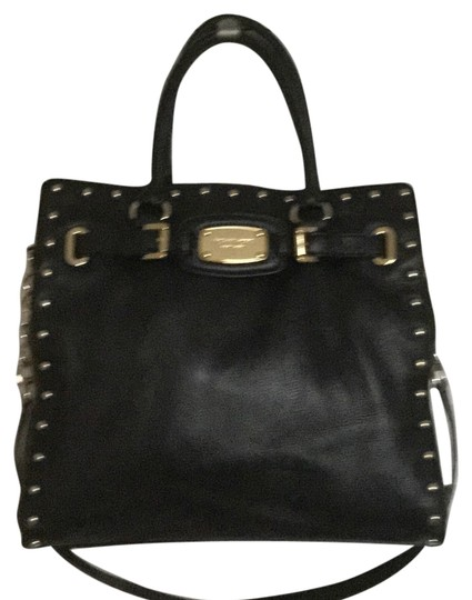 Preload https://item5.tradesy.com/images/michael-kors-hamilton-rock-and-roll-black-leather-tote-4292149-0-0.jpg?width=440&height=440