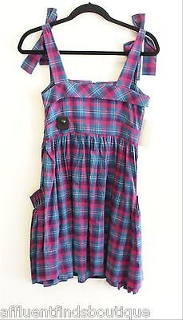 Marc by Marc Jacobs short dress Multi-Color Blue Plaid Sun 0 on Tradesy