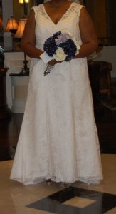 David's Bridal 9t9612 Wedding Dress