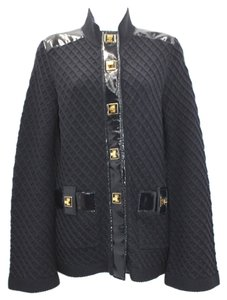 Tory Burch Navy Blue Thick Jacket