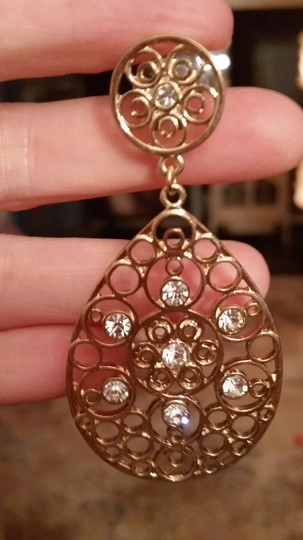 Other large, sparkly earrings
