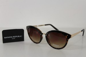 Banana Republic Banana Republic Br Women Fashion Sunglasses Brown Frame Dark Black Lens