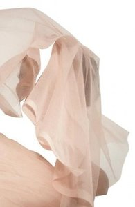 LaceTime Blush Colored Wedding Veil