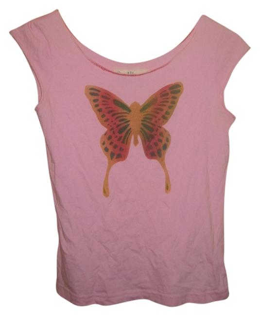 South Paradise Butterfly Hand Wash T Shirt Pink