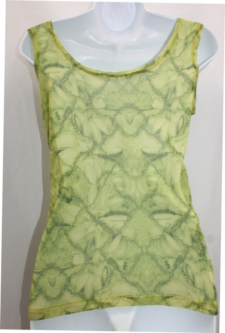 Other Print Mesh Stretchy T Shirt