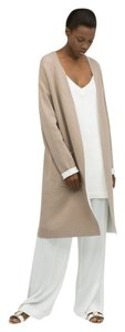 Zara Coat Spring Summer Knit Coat Camel Tan Beige Mink Jacket