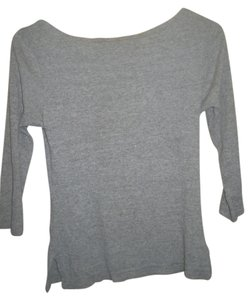 Hard Tail Cotton T Shirt Gray