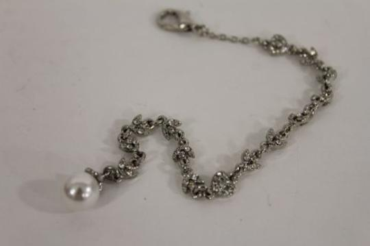 Other Women Silver Metal Long Chain Fashion Jewelry Back Pendant Necklace Heart Beads