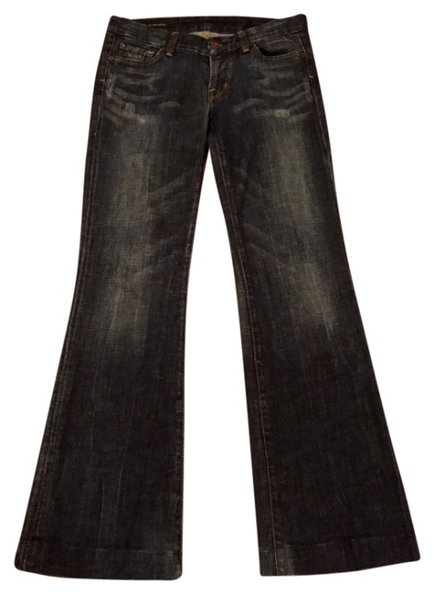 Citizens of Humanity Denim Denim Boot Cut Jeans-Dark Rinse