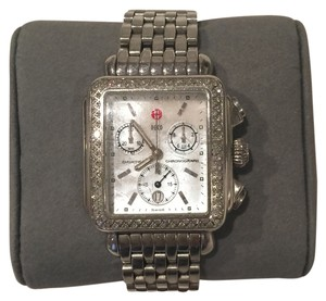Michele Deco Diamond Mother Of Pearl Michele Watch