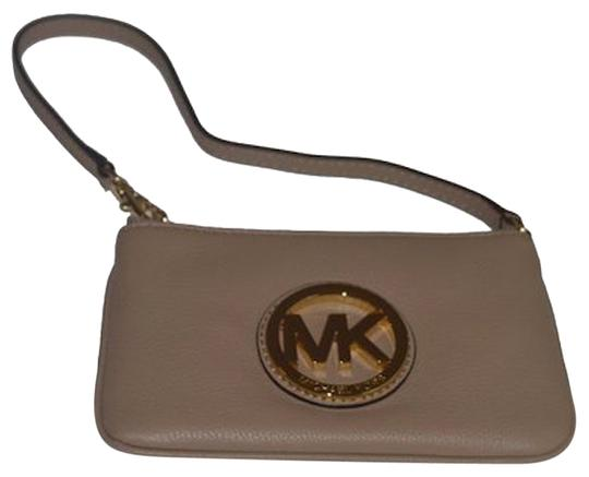 Michael Kors Wristlet in Dark Khaki